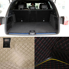 PU Leather Rear Trunk Cargo Liner Protector Mat Seat Back Cover For Benz GLC