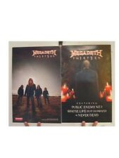 Megadeth Poster  Th1rt3en  Two Sided Megadeath