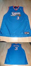 Men's Philadelphia 76ers Allen Iverson XL (48) Nike Vintage (Blue) Jersey