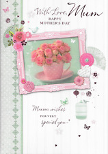 BEAUTIFUL MOTHERS DAY CARD,MUM,LOVELY VERSE,FLOWERS THEME,TOP QUALITY 7X10(M2
