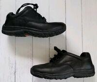 TIMBERLAND Black Boys Oxford Shoe Leather Big Kids Youth size 3.5 #83911M