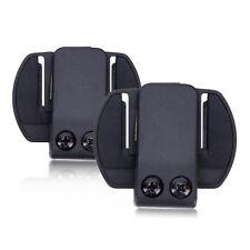2x Mount Bracket pour V6 1200M Moto 6Riders Bluetooth Interphone Casque Headset