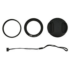 UV Filter+Lens Adapter Ring Cap Set fr Nikon Coolpix P600 P610s P610 B700 Camera