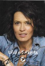 sexy ULRIKE FOLKERTS handsigniert Autogramm Karte AK Sammlung ARD Tatort
