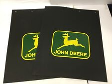 John Deere Semi, Medium or Light Duty Dually Truck Mudflaps (Pair)