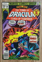Tomb of Dracula #64 (Marvel, 1978) F to VF Condition / Gene Colan Art