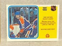 1982-83 OPC O-Pee-Chee Hockey Assist Leader Wayne Gretzky #240
