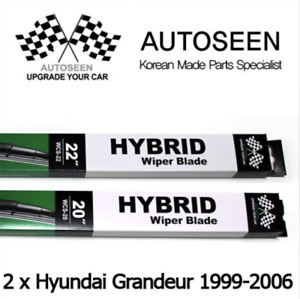 For HYUNDAI GRANDEUR 1999~2006 Windscreen Wiper Blades WCS-20 & WCS 22(Pair)
