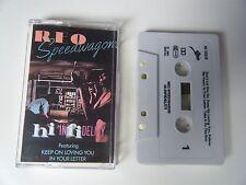 REO SPEEDWAGON HI INFIDELITY CASSETTE TAPE EPIC CBS UK 1981