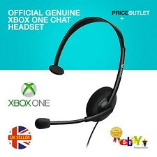 OFFICIAL GENUINE XBOX ONE CHAT HEADSET WITH MIC MICROSOFT ONE S X 3.5MM