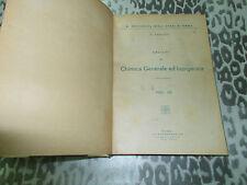 LEZIONI CHIMICA GENERALE ED INORGANICA DI V.CAGLIOTI ANNO 1943-XXI