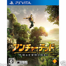Used PS Vita Uncharted Chizu Naki Bouken SONY PLAYSTATION JAPANESE IMPORT