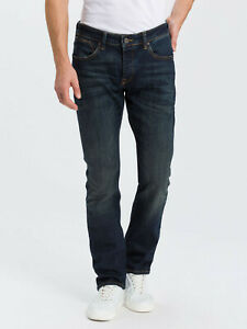 "CROSS DENIM JEANS "" Dylan "" Herren Straight Tapered Leg Farbe: 070 Deep Blue"
