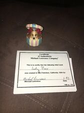 Disney Lady And The Tramp Michael Lawrence Company Trinket Pill Box