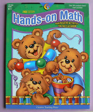 Hands-On Math,Manipulative Activities for the Classroom,gr.K-1 CTP Creative NEW!