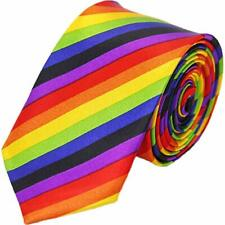 Make your work day more fun and stylish with Men's Rainbow Collection Neck Tie