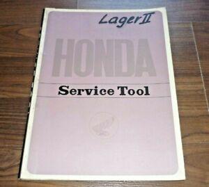 HONDA Service Tool 1961 Motorrad Werkstatt Ausstattung KATALOG Bike Workshop