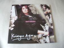 KRISTYNA MYLES - I'M NOT GOING BACK - 2012 4 TRACK PROMO CD SINGLE