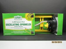 Oscillating Lawn Sprinkler with 18 Brass Nozzle 3400 Sq Ft