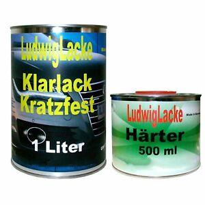 WOW 1,5 Liter MS 2K Klarlack SET für Autolack und Effektlack von Ludwiglacke