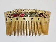 Rare Antique  Chinese Carved Fine Hair Comb Pin