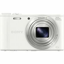 SONY Cyber-Shot DSC-WX350-W White Digital Camera 20x Optical Zoom DSCWX350W