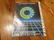 Conway Trailer Tent & Folding Camper Sales Brochure. FREE POSTAGE