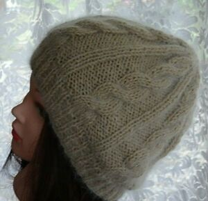Hand Knitted Beanie Warm Women's Men's Hat Australia Made