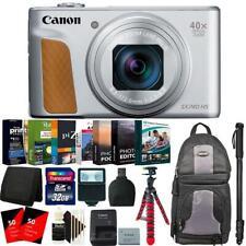 Canon PowerShot SX740 HS Digital Camera Silver + 62