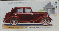 No.27 LANCHESTER '14' ROADRIDER SPORTS SLN - MOTOR CARS 2nd SERIES - Player 1937