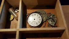 Elgin 1919 Watch Movement for Parts/Repairs comes with parts box from 1800's