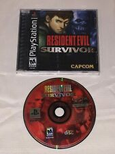 Resident Evil: Survivor (Sony PlayStation 1, 2000)