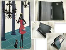 "FUNDA +PROTECTOR TABLET SAMSUNG GALAXY TAB 3 7"" 7.0 T210 P3200 MUJER GLAMOUR"