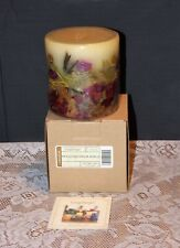 Longaberger Botanical Fields Inclusion Candle - New in Box
