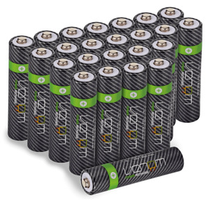 Rechargeable AA / AAA Batteries - High Capacity - Multiple Pack Sizes