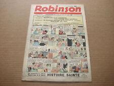 *** ROBINSON *** n° 136 - 04/12/1938