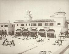 "NEWPORT BEACH Balboa Inn Hotel VINTAGE Photo Print 980 11"" x 14"""