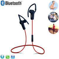 New Sport Wireless Bluetooth Headset Headphone For Mobile Cell Phone PC Tablet