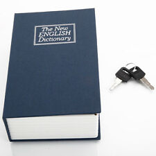 New Dictionary Book Secret Home Safe Security Key Lock Money Cash Jewellery Box