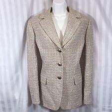 Tahari Arthur S. Levine Sz 12 Pastel Tweed Blazer