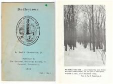 Vintage 1966 DUDLEYTOWN CORNWALL CT Occult Demon Ghost Haunted Connecticut Book