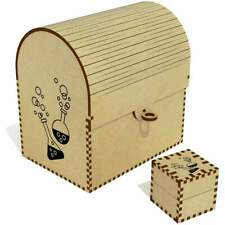'Science Chemicals' Treasure Chest / Jewellery Box (TC00034994)