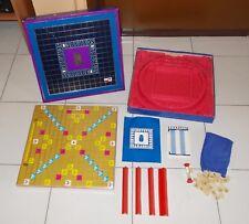 SCARABEO Edizione LUSSO Editrice Giochi anni 80 Prestige Scrabble deluxe blu