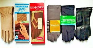 VINTAGE ISOTONER WOMEN'S WINTER GLOVES W/WARM LINED NEW SELECT 1