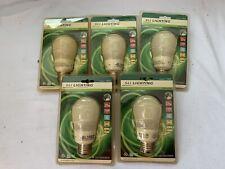 New 14 Watt Compact Fluorescent CFL A19 Light Bulbs 27K Soft White 120V