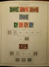 Great Britain Postage Stamps - Issues of 1935-38 King George V - Lot of 9