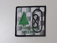 Evergreen Speedway Automobile Jacket Logo Patch Collectible Sew On Nascar Racing