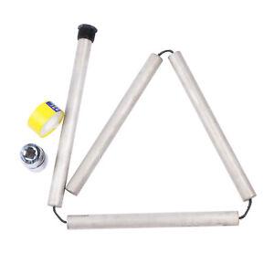 44inch Magnesium Flexible Anode Rods w/ Hex Socket Teflon Tape Hi Temp Brass Cap