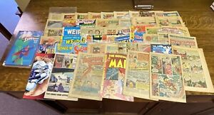 Collection 52 Comic Books readers copies Mostly Silver, Bronze, Copper Age & Tpb
