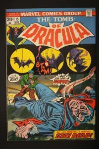 Tomb of Dracula #15 - NEAR MINT 9.0 NM - Marvel Comics